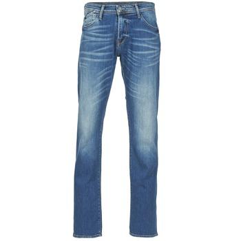 Textil Homem Calças Jeans Le Temps des Cerises 812 Azul