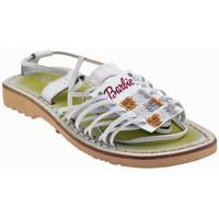 Sapatos Criança Sandálias Barbie  Branco
