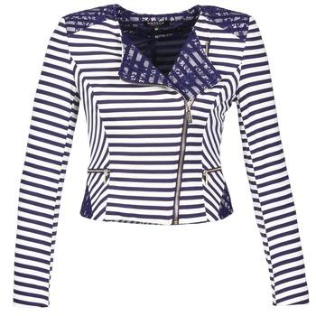 Textil Mulher Casacos/Blazers Morgan VMEL Marinho / Branco