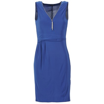 Textil Mulher Vestidos curtos Morgan ROPOM Azul