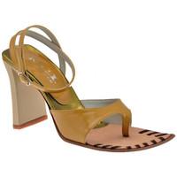 Sapatos Mulher Chinelos Nci  Castanho