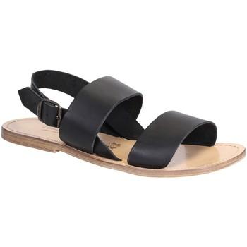 Sapatos Mulher Sandálias Gianluca - L'artigiano Del Cuoio 500X U NERO LGT-CUOIO nero