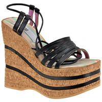 Sapatos Mulher Sandálias No End  Preto