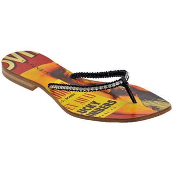Sapatos Mulher Chinelos Café Noir  Preto