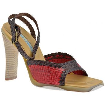 Sapatos Mulher Sandálias Janet&Janet  Vermelho