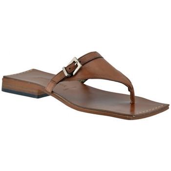 Sapatos Mulher Chinelos Janet&Janet  Castanho