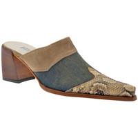 Sapatos Mulher Tamancos Janet&Janet  Azul