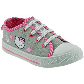 Sapatos Criança Sapatilhas Hello Kitty  Cinza