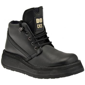 Sapatos Homem Botas baixas Docks  Preto