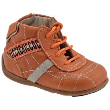 Sapatos Criança Sapatilhas de cano-alto Chicco  Laranja