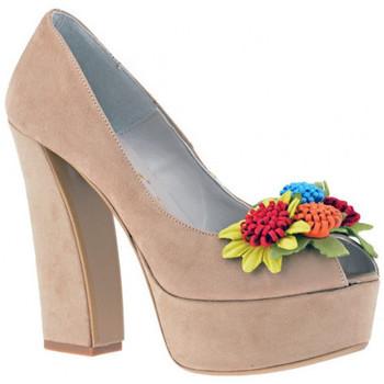 Sapatos Mulher Escarpim Osey  Bege