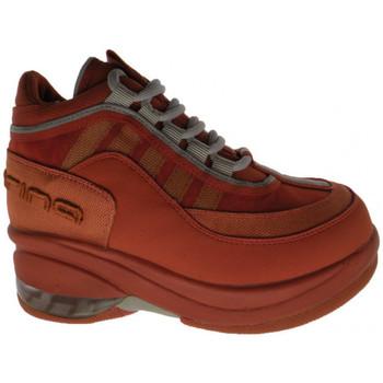 Sapatos Criança Sapatilhas de cano-alto Fornarina  Laranja