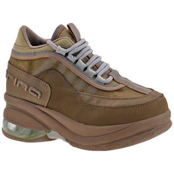 Sapatos Criança Sapatilhas de cano-alto Fornarina  Bege