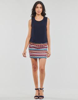 Textil Mulher Vestidos curtos Moony Mood IEVELI Marinho