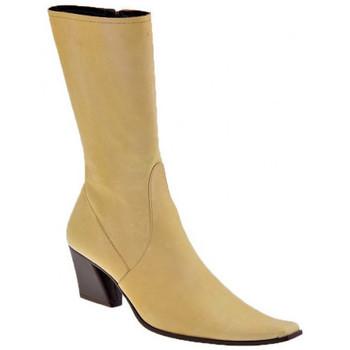 Sapatos Mulher Botins Giancarlo Paoli  Bege