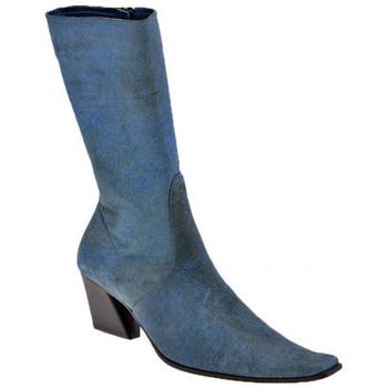 Sapatos Mulher Botas Giancarlo Paoli  Azul