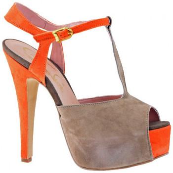 Sapatos Mulher Escarpim Cuomo  Castanho