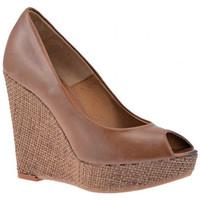 Sapatos Mulher Sapatilhas de cano-alto Nobrand  Castanho