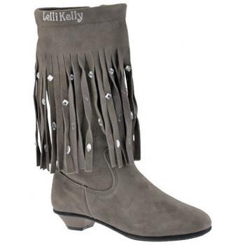 Sapatos Criança Botas Lelli Kelly  Cinza