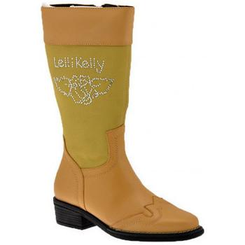 Sapatos Criança Botas Lelli Kelly  Bege