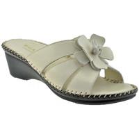 Sapatos Mulher Chinelos Susimoda  Bege