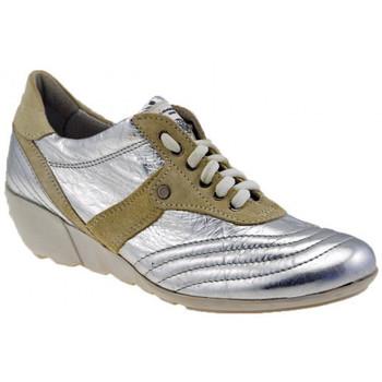 Sapatos Mulher Sapatilhas de cano-alto OXS  Prata