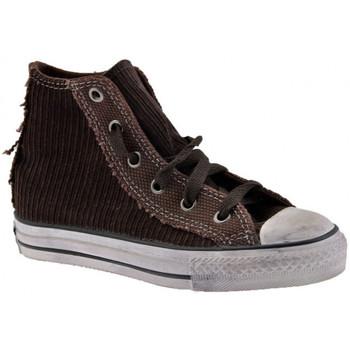 Sapatos Criança Sapatilhas de cano-alto Converse  Castanho