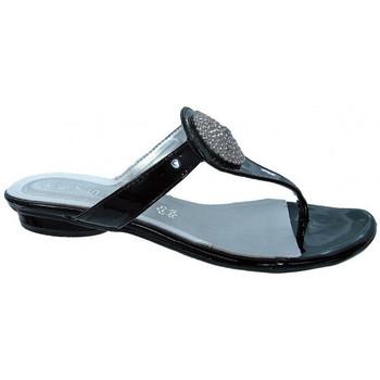 Sapatos Mulher Chinelos Keys  Preto