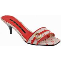 Sapatos Mulher Chinelos Keys  Vermelho