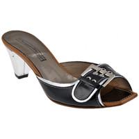 Sapatos Mulher Sandálias Progetto  Preto
