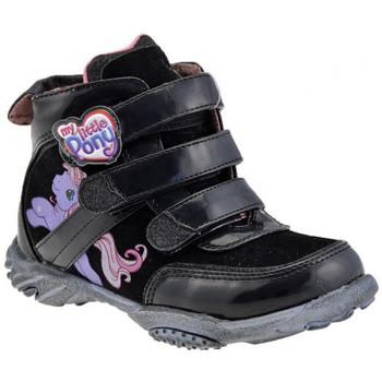Sapatos Criança Sapatilhas de cano-alto Dessins Animés  Preto