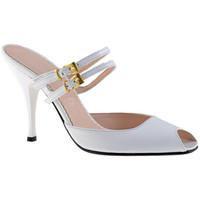 Sapatos Mulher Tamancos Charlize Italia  Branco