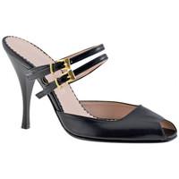Sapatos Mulher Tamancos Charlize Italia  Preto