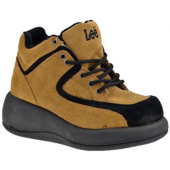 Sapatos Mulher Sapatilhas de cano-alto Lee  Bege