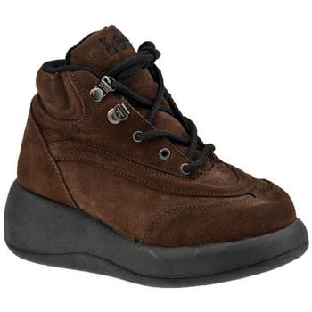 Sapatos Mulher Sapatilhas de cano-alto Lee  Castanho