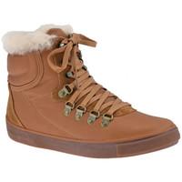 Sapatos Mulher Sapatilhas de cano-alto FitFlop  Castanho