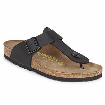 Sapatos Homem Chinelos Birkenstock MEDINA Preto