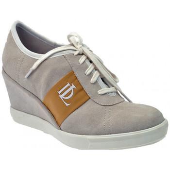 Sapatos Mulher Sapatilhas de cano-alto Donna Loka  Bege
