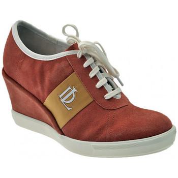 Sapatos Mulher Sapatilhas de cano-alto Donna Loka  Rosa