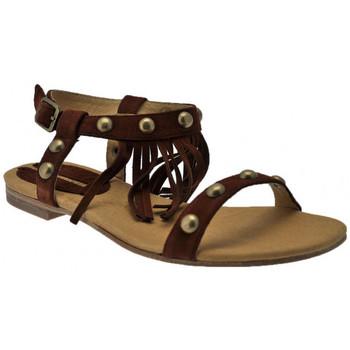 Sapatos Mulher Sandálias Donna Loka  Castanho