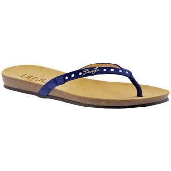 Sapatos Mulher Chinelos Liu Jo  Azul