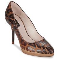 Sapatos Mulher Escarpim Escada AS701 Castanho / Leopardo