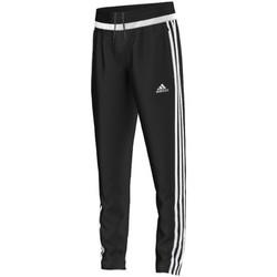 Textil Rapaz Calças de treino adidas Performance tiro15 Training Pant Jr BLACK / WHITE / BLACK