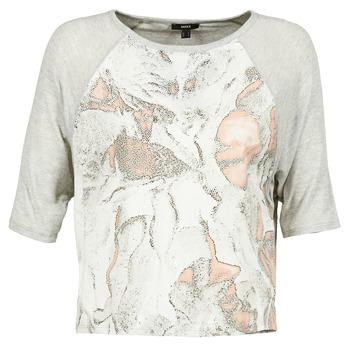 Textil Mulher T-Shirt mangas curtas Mexx EXOTI Cinza