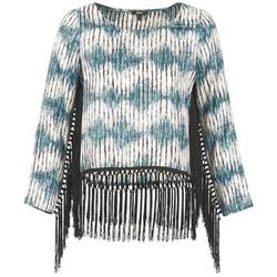 Textil Mulher T-shirt mangas compridas Mexx AMBRELI Azul