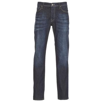 Textil Homem Calças Jeans Jack & Jones CLARK JEANS INTELLIGENCE Azul