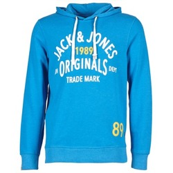 Textil Homem Sweats Jack & Jones ATHLETIC SWEAT ORIGINALS Azul