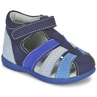 Sapatos Rapaz Sandálias Kickers BABYSUN Marinho / Azul