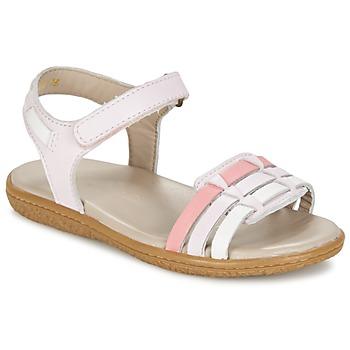 Sapatos Rapariga Sandálias Kickers VELOZ Rosa