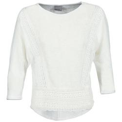 Textil Mulher T-shirt mangas compridas Vero Moda MYBELLA Branco